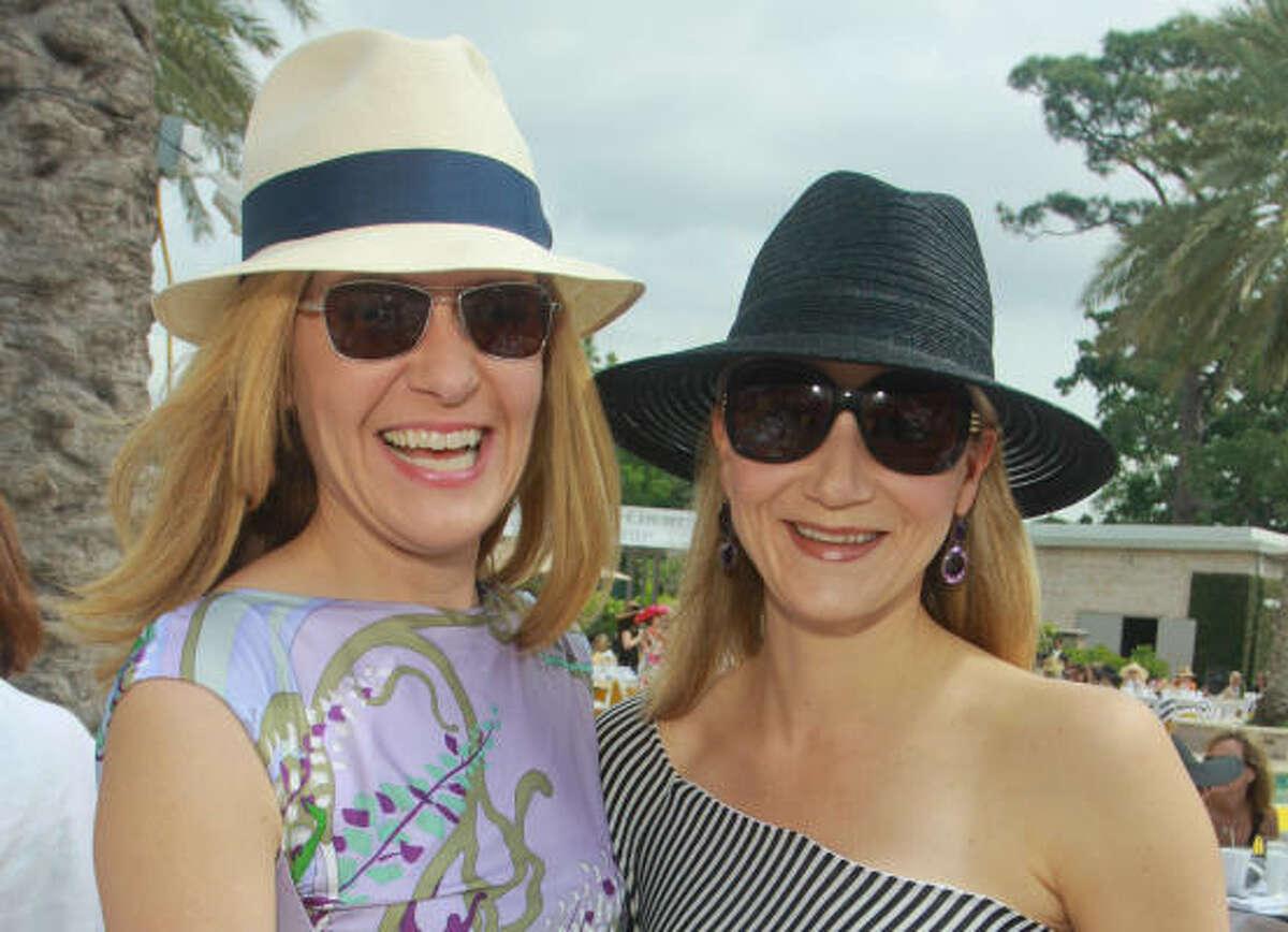 Katie Brass and Stephanie Cockrell