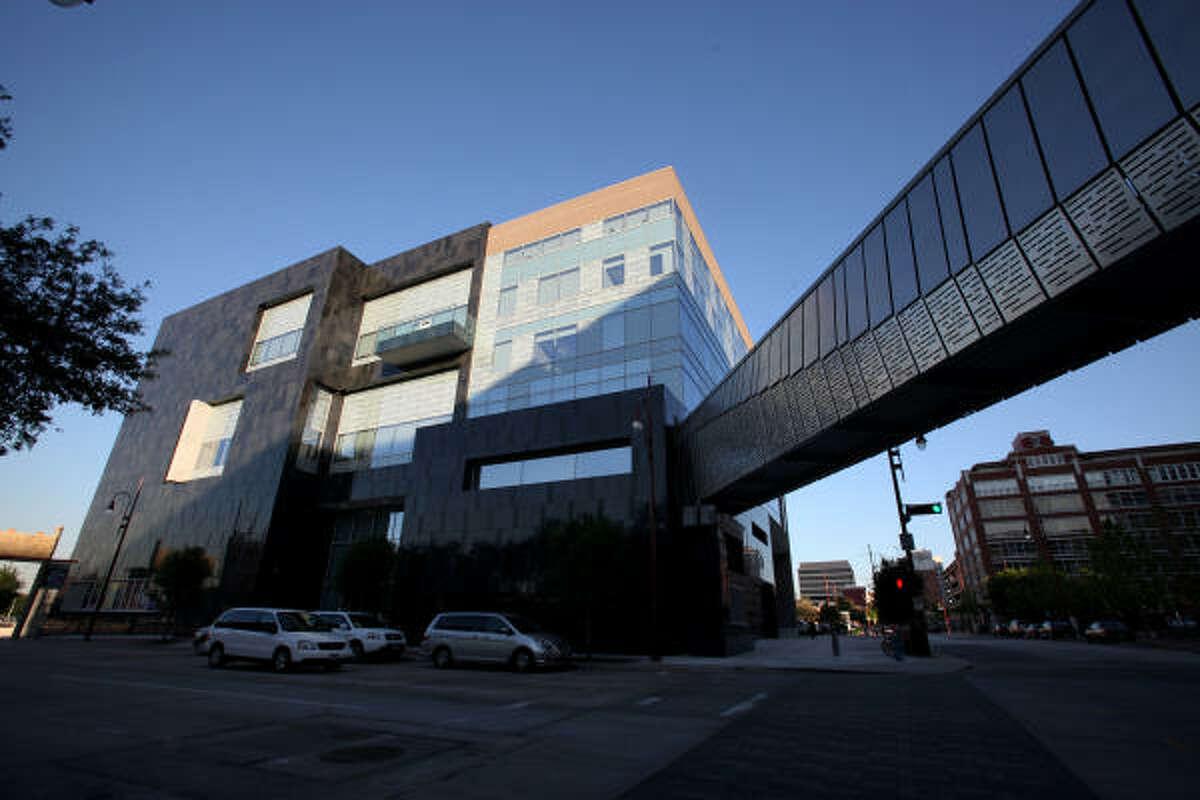 Westside view of the Houston Ballet's new Center for Dance.
