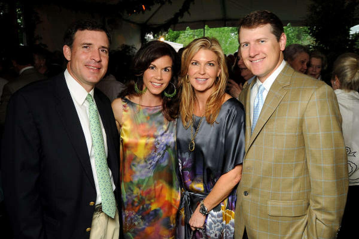 David and Nicole Zarr with Heather and David Mitchell