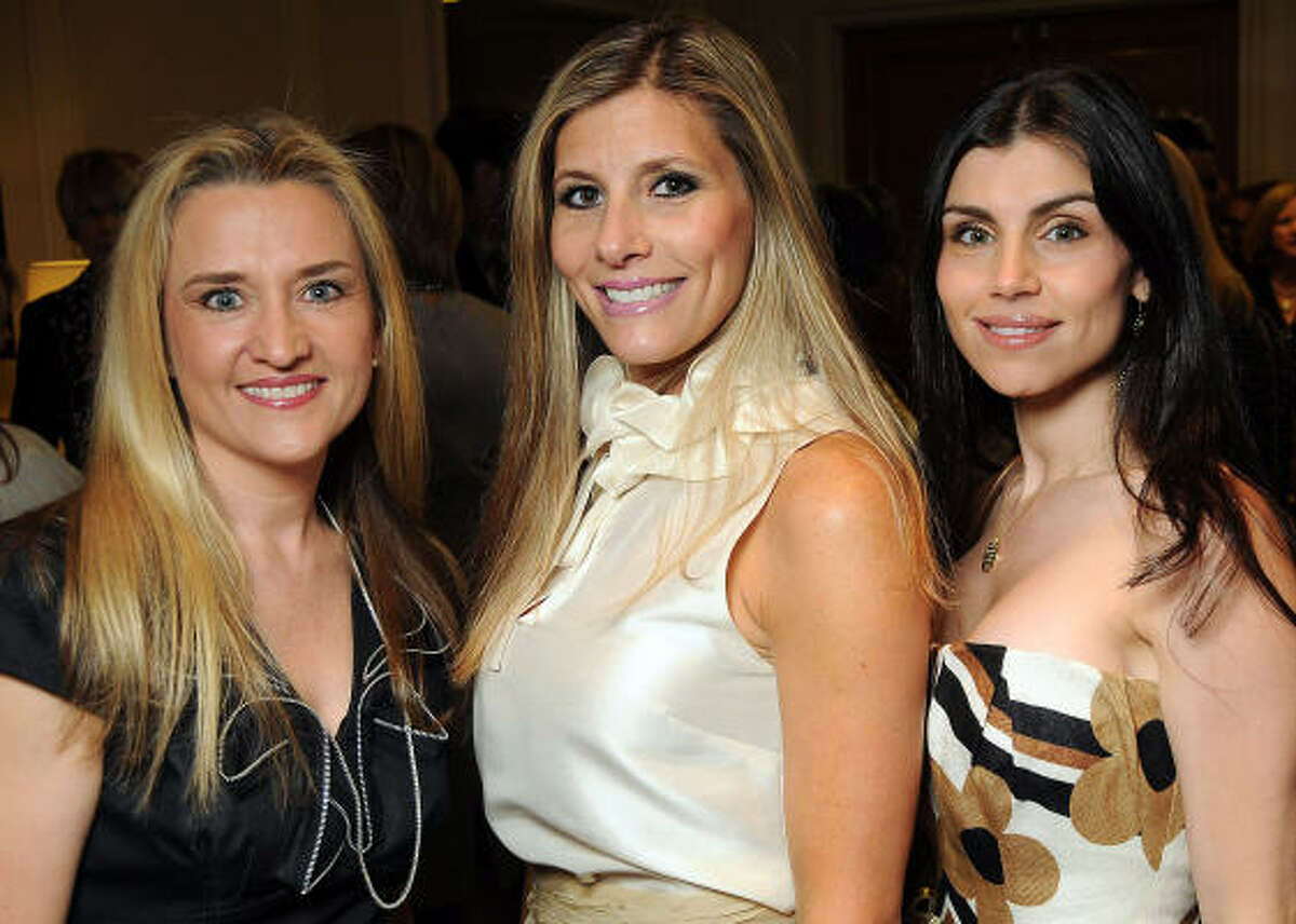 Mary D'Andrea, Gina Bhatia and Nadine Boutros
