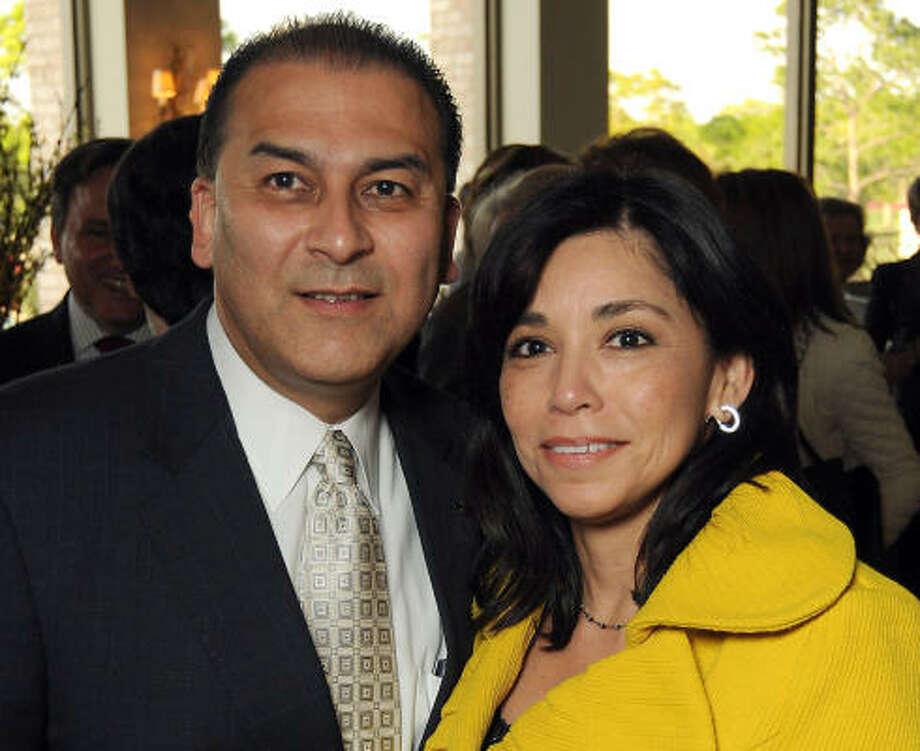 Rick and Laura Jaramillo Photo: Dave Rossman, For The Chronicle