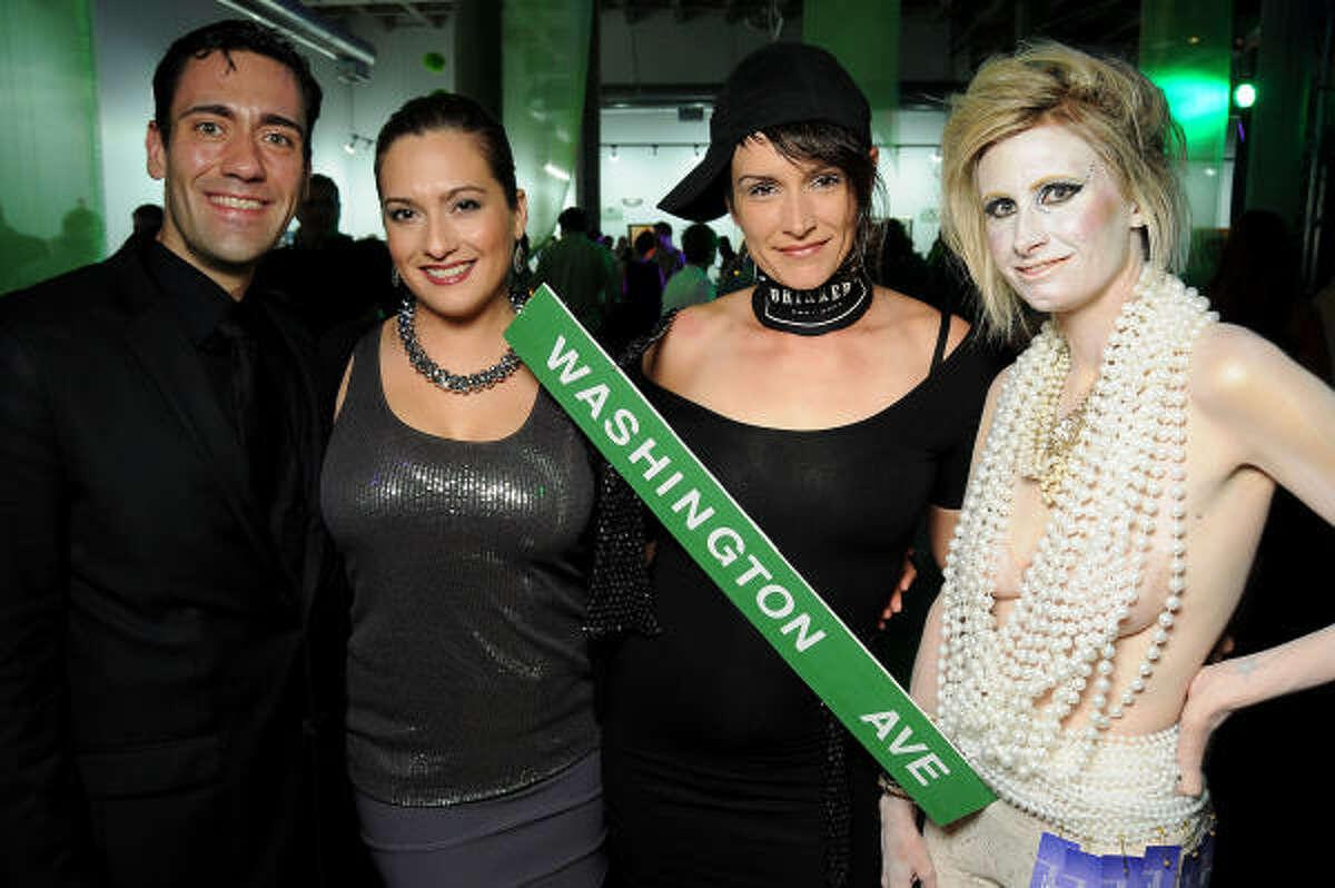 Charles Stokley, Erica Neff, Mandy Trichell (as Houston's own Washington Ave. strip) and Teya Sparks