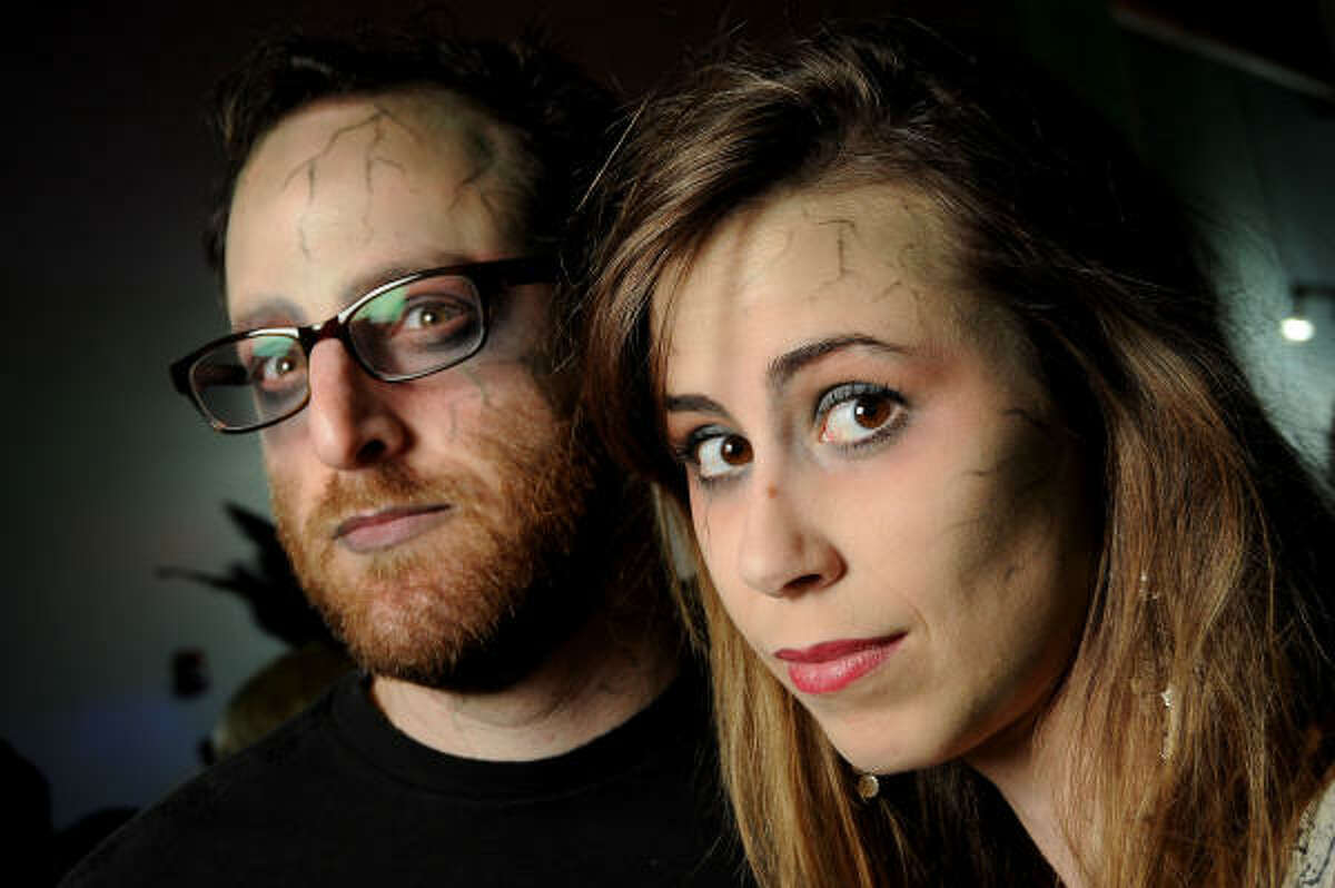 Dave Brown and Amber Roussel