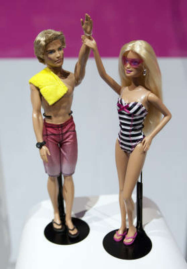 Barbie and Ken in 2011. Photo: Tom Starkweather, Bloomberg