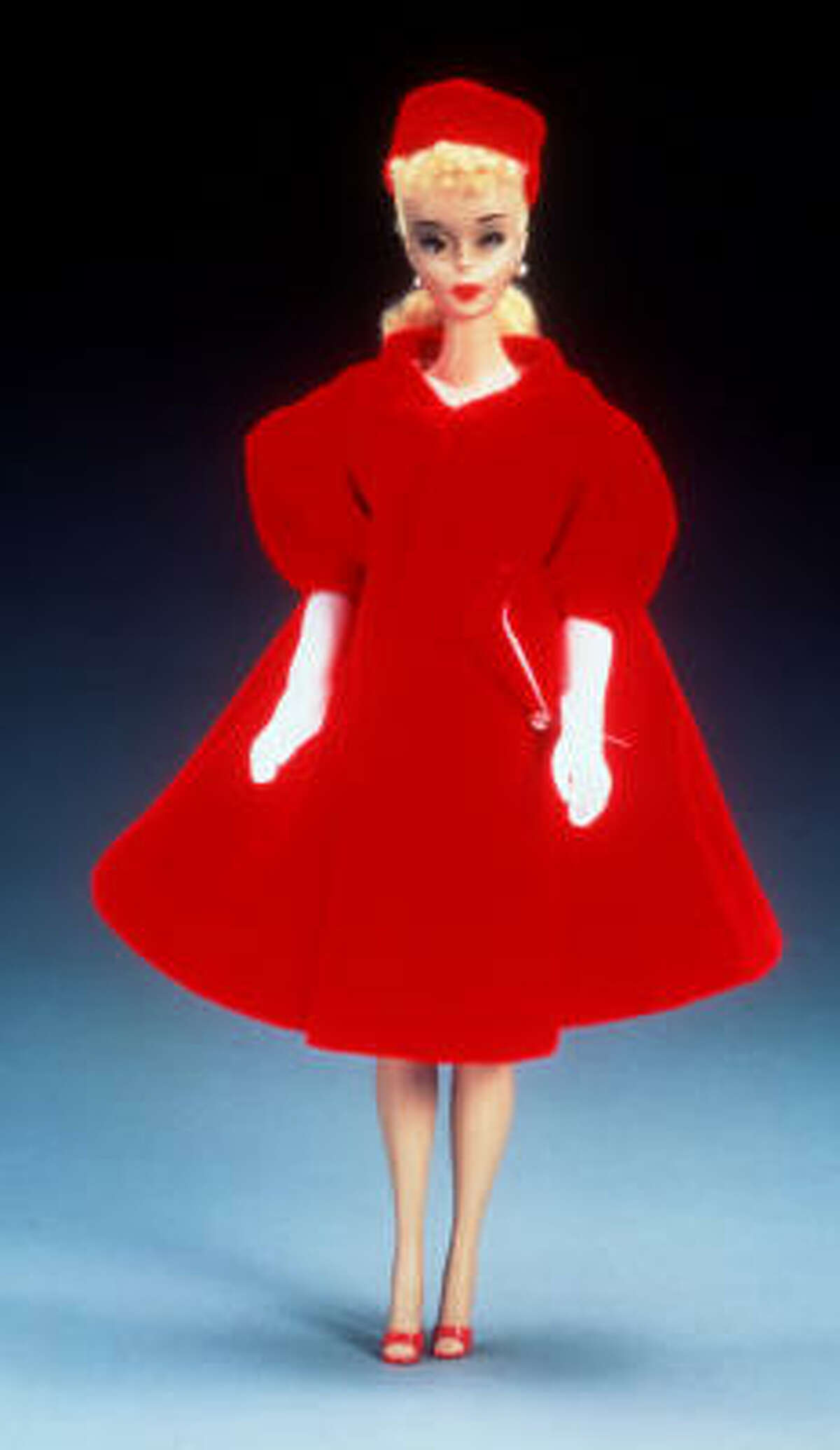 In 1966 came Red Flare Barbie.
