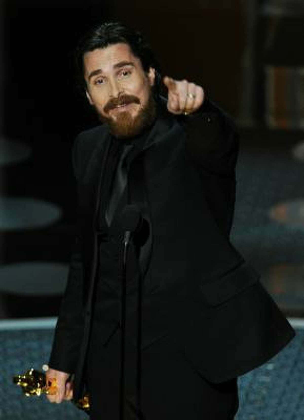 Best Supporting Actor Christian Bale for The Fighter