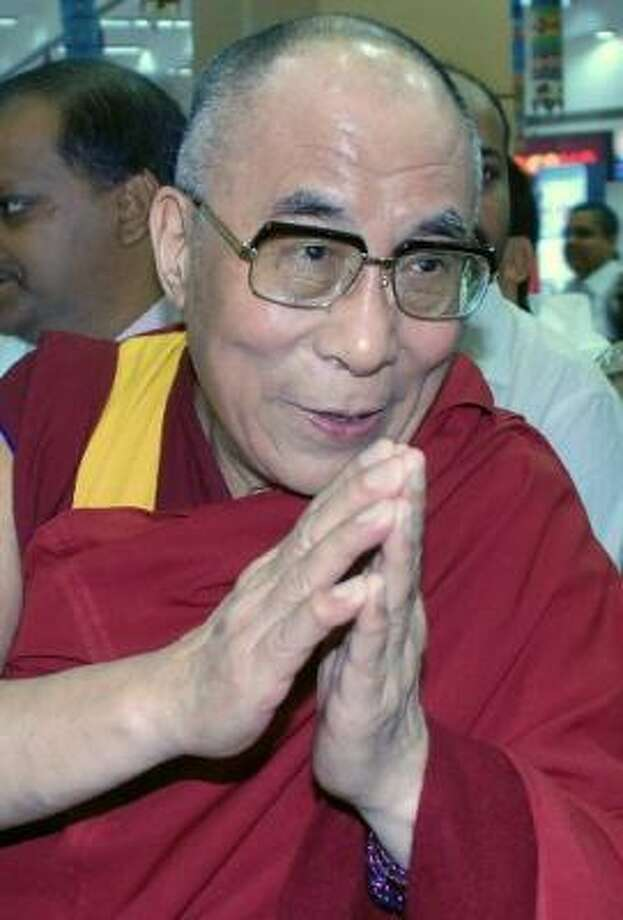 Dalai Lama Photo: STR/AFP/Getty Images