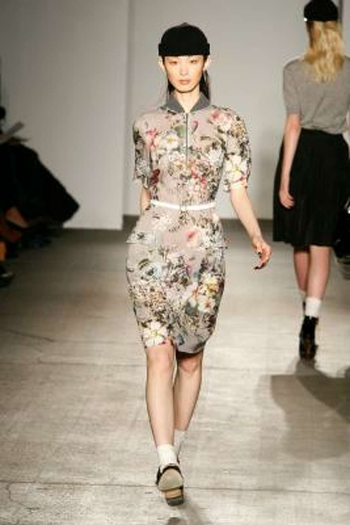 Romantic, muted florals by Karen Walker