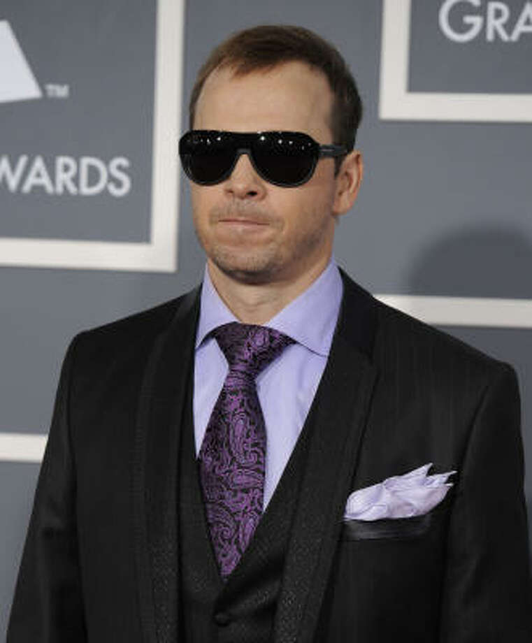 """Donnie Wahlberg- """"#BlueBloodsproduction shut down because of hurricane! """"Danny"""" has met his match... her name is """"Sandy""""! Has a nice ring to it. BE SAFE!"""" Photo: Chris Pizzello, AP"""