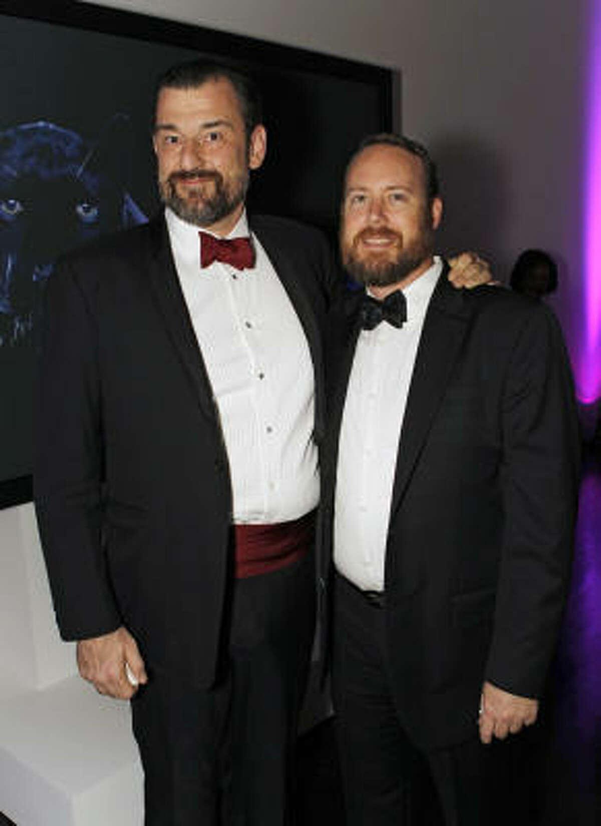 Bill Arning and Mark McCray
