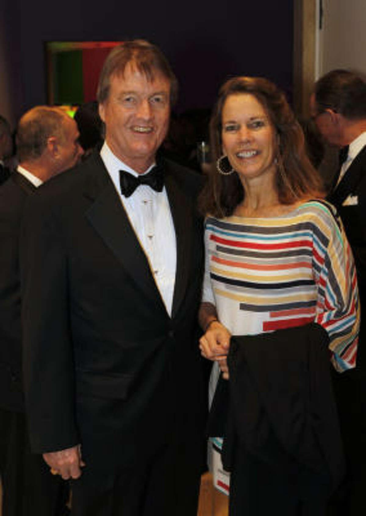 University of Texas at Austin president William Powers and his wife Kim Heilbrun