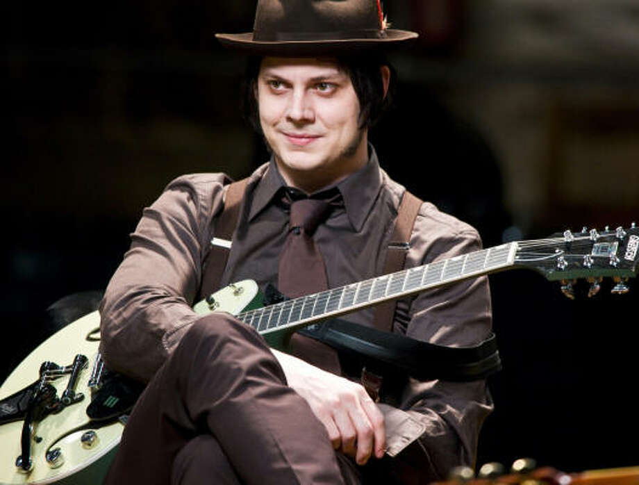 """Jack White""""I was thinking at 14 that possibly I might have had the calling to be a priest...Blues singers sort of have the same feelings as someone who's called to be a priest might have,"""" the now-rocker said. Photo: Alba Tull, Sony Pictures Classics"""