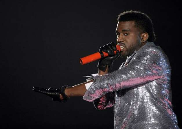 Kanye's ego is big enough to name the child Jesus Christ part 2. Photo: Mark J. Terrill, AP