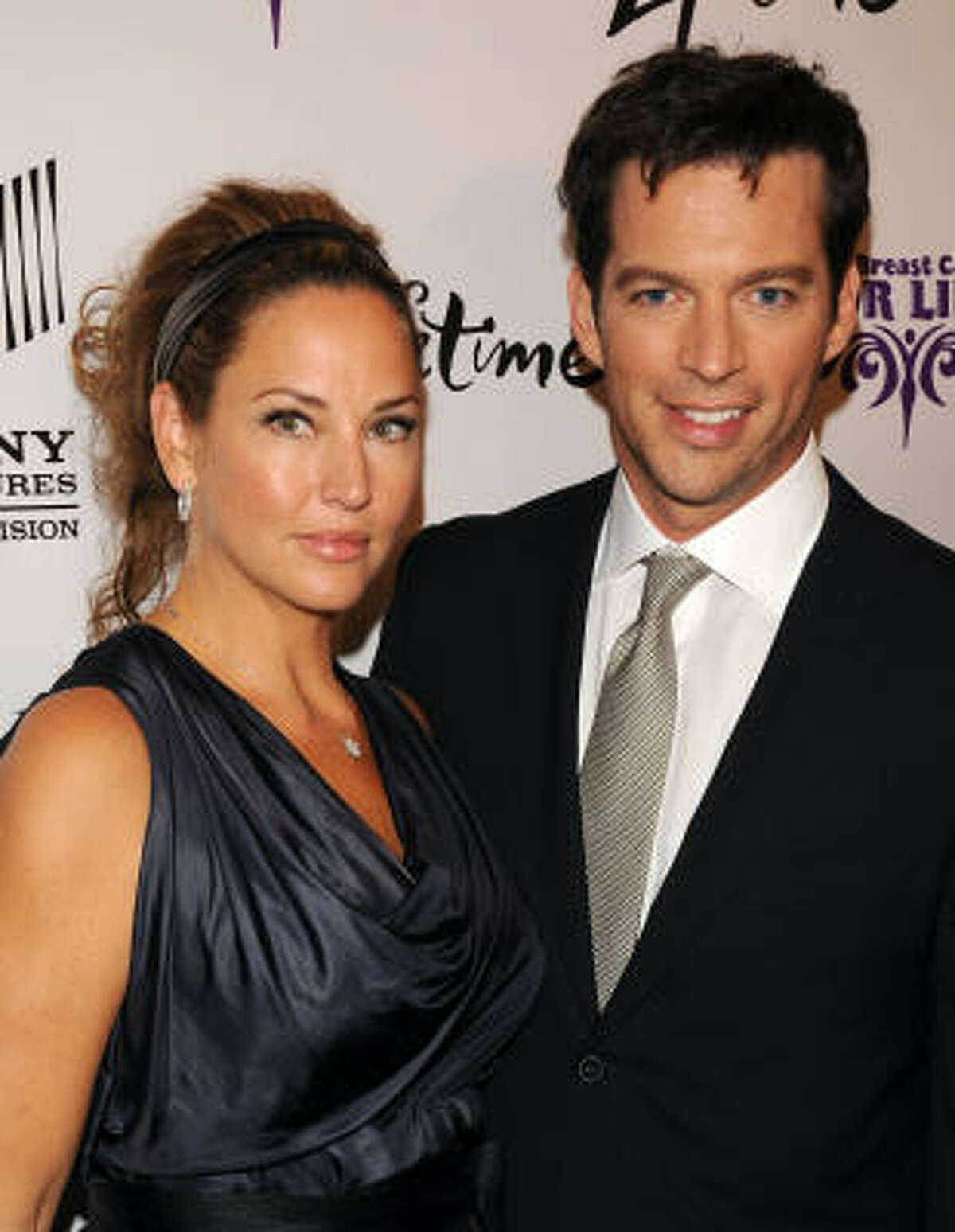 Jill Goodacre has three daughters with husband Harry Connick Jr.
