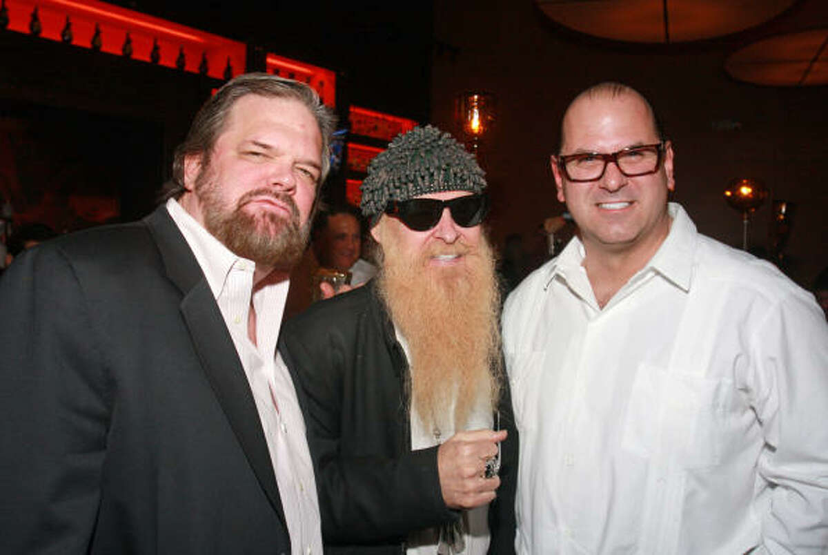 J. P. Shellnutt, Billy Gibbons and Stewart Skloss