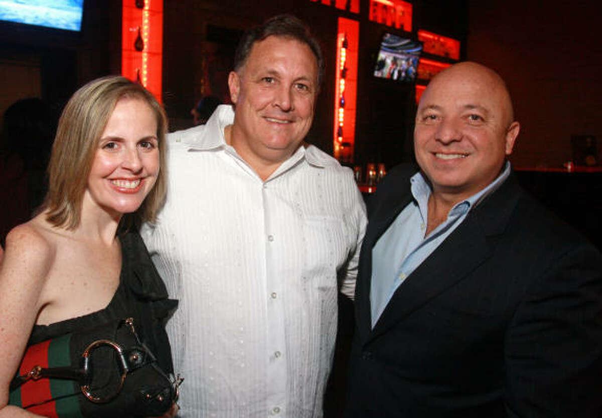 Betina Bostick, Brett Bradford and Steven Vourvoulias