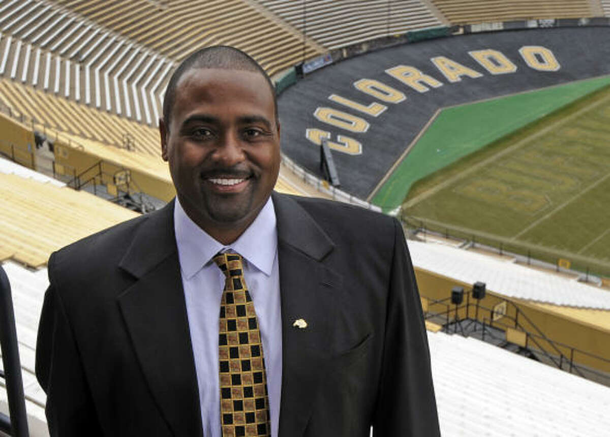 School: Colorado Who's out: Dan Hawkins Who's in: Jon Embree A former Colorado standout tight end and one-time assistant, Embree replaces Hawkins, who was fired after going 19-39 during four-plus seasons in Boulder.