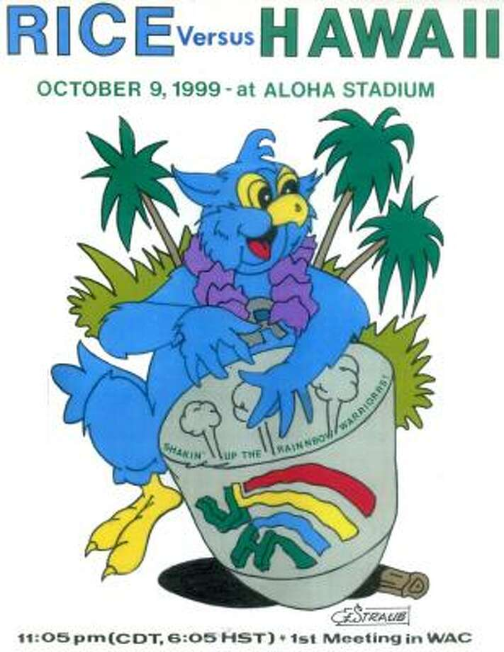 Rice vs. Hawaii (Oct. 9, 1999) Photo: Charles Straub