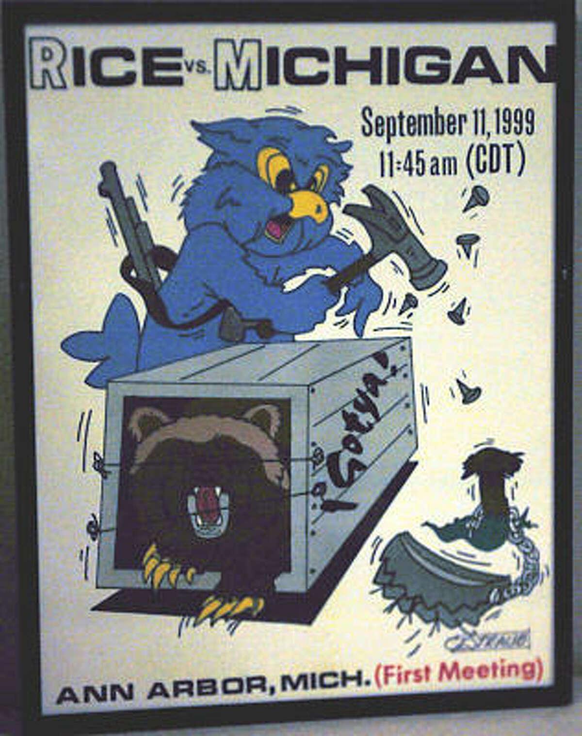 Rice vs. Michigan (Sept. 11, 1999)