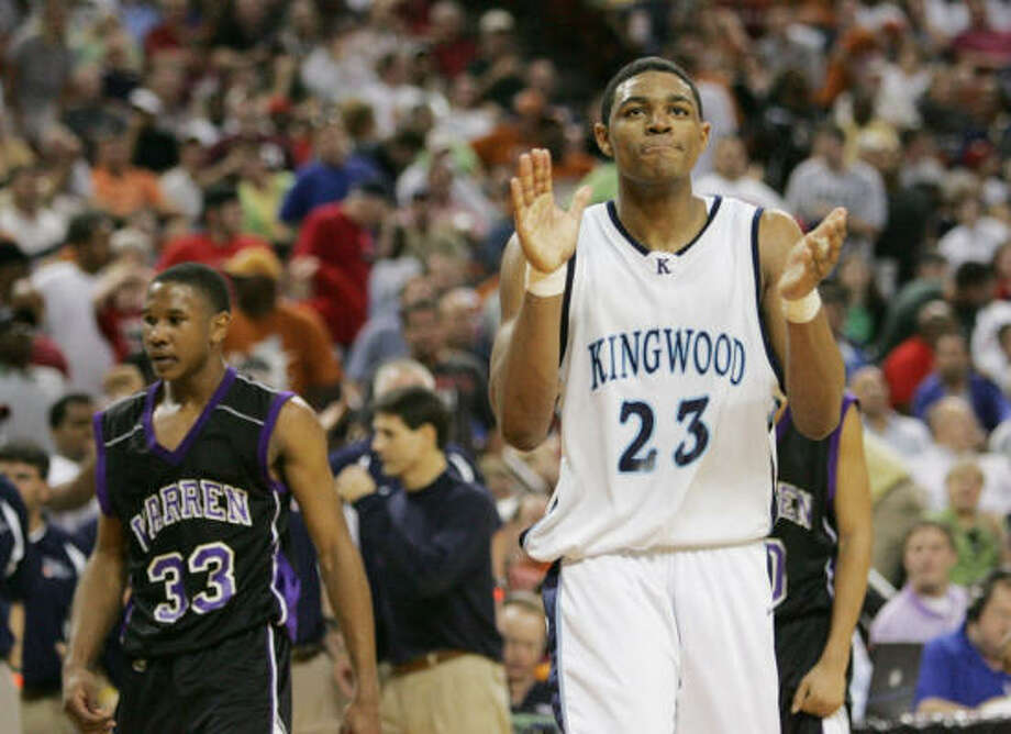 Kingwood will count on contributions from Mike Singletary (23) in District 21-5A. Photo: CHRIS CARSON, AP