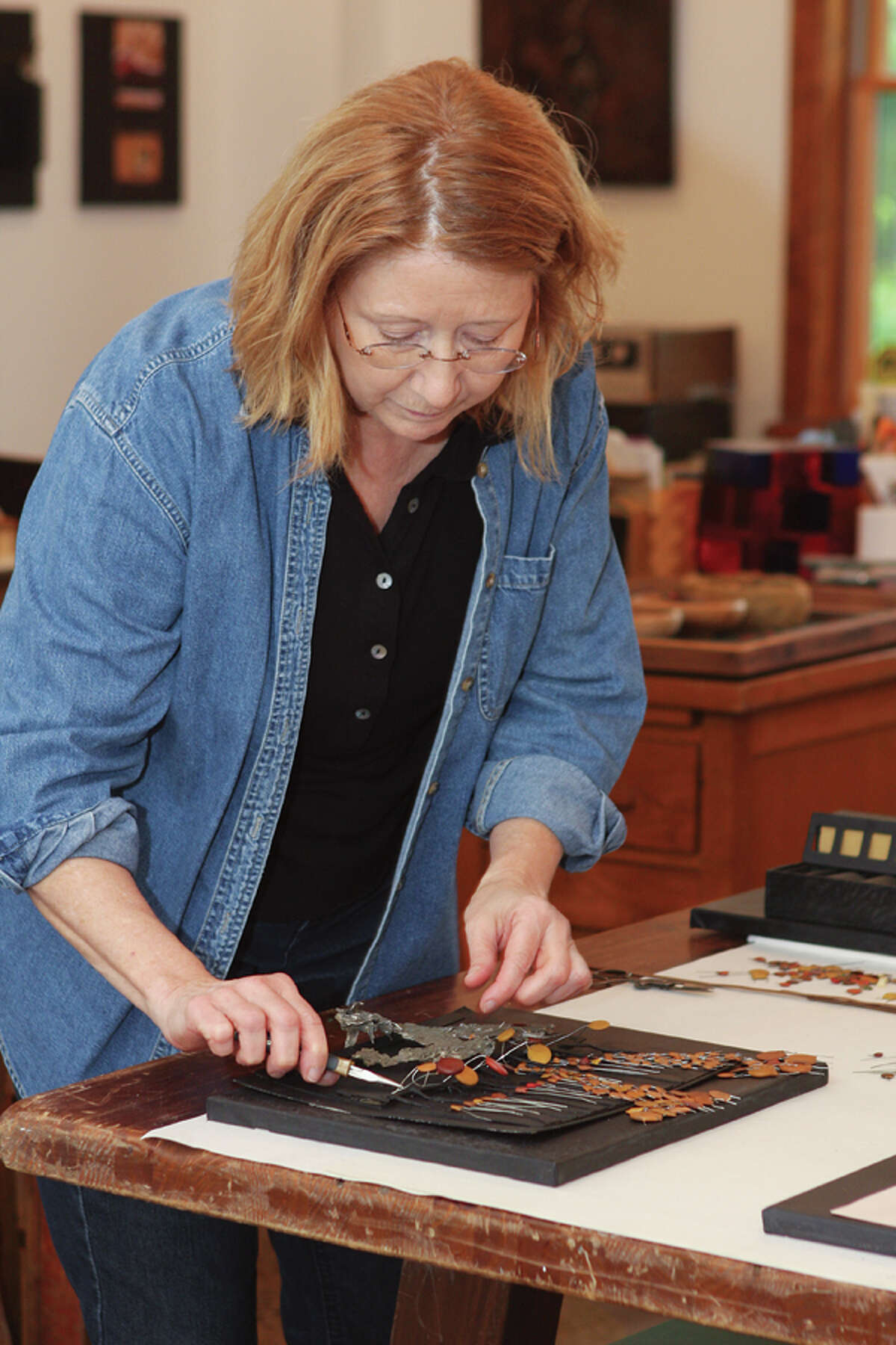 Mary Pat Wager finds inspiration in the nature around her and it shows in her variety of sculptures. (Photos by Krishna Hill/Life@Home) Read the story here