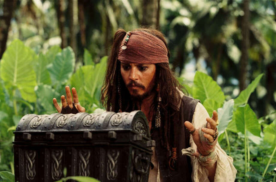 "Pirates of the Caribbean: Dead Man's Chest (2006)""Look what I got. I've got a jar of di-irt. I've got a jar of di-irt, and look what's inside it."" Photo: Disney"