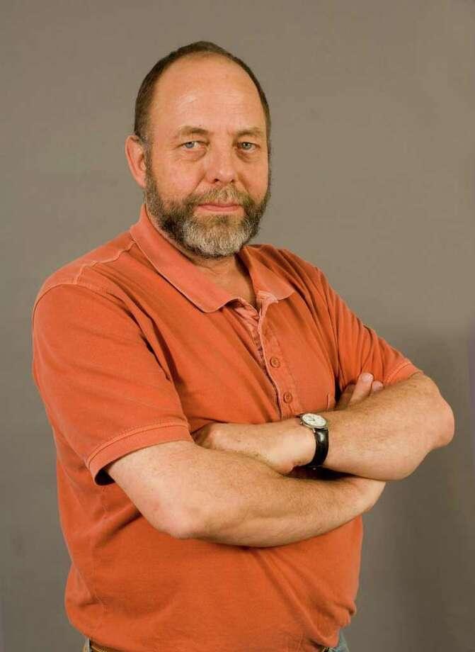 Pierre Joris (Photo by Mark Schmidt/University at Albany)