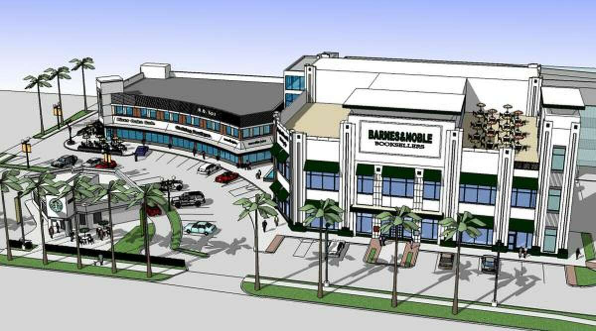 A Barnes & Noble bookstore will anchor the redeveloped River Oaks Shopping Center.