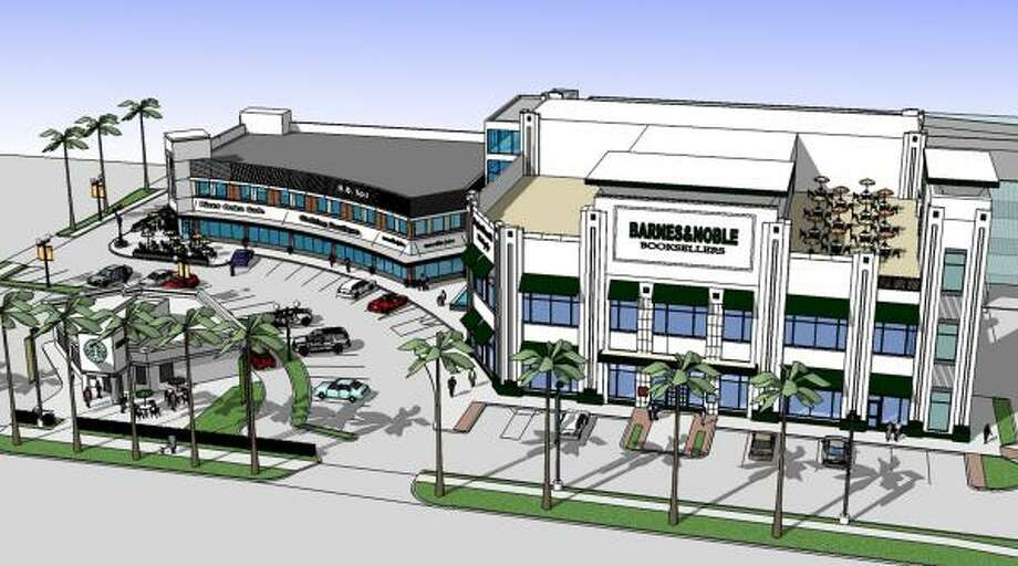 A Barnes & Noble bookstore will anchor the redeveloped River Oaks Shopping Center. Photo: WEINGARTEN REALTY INVESTORS