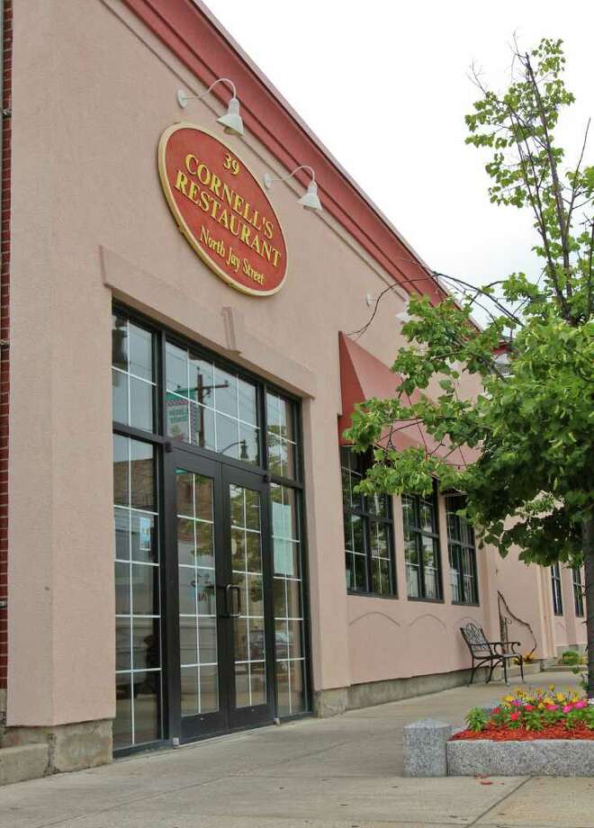 The exterior of Cornell's restaurant in Schenectady on Friday, July 29, 2011. (Erin Colligan / Special To The Times Union)