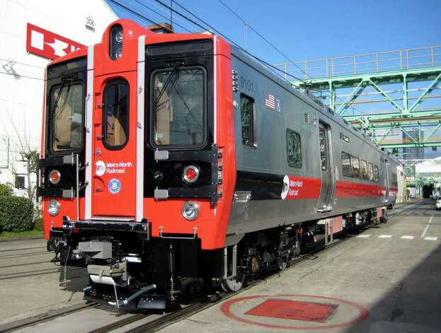 New Metro-North M-8 train car. Expected to arrive in 2009 contributed image Photo: ST / Connecticut Post