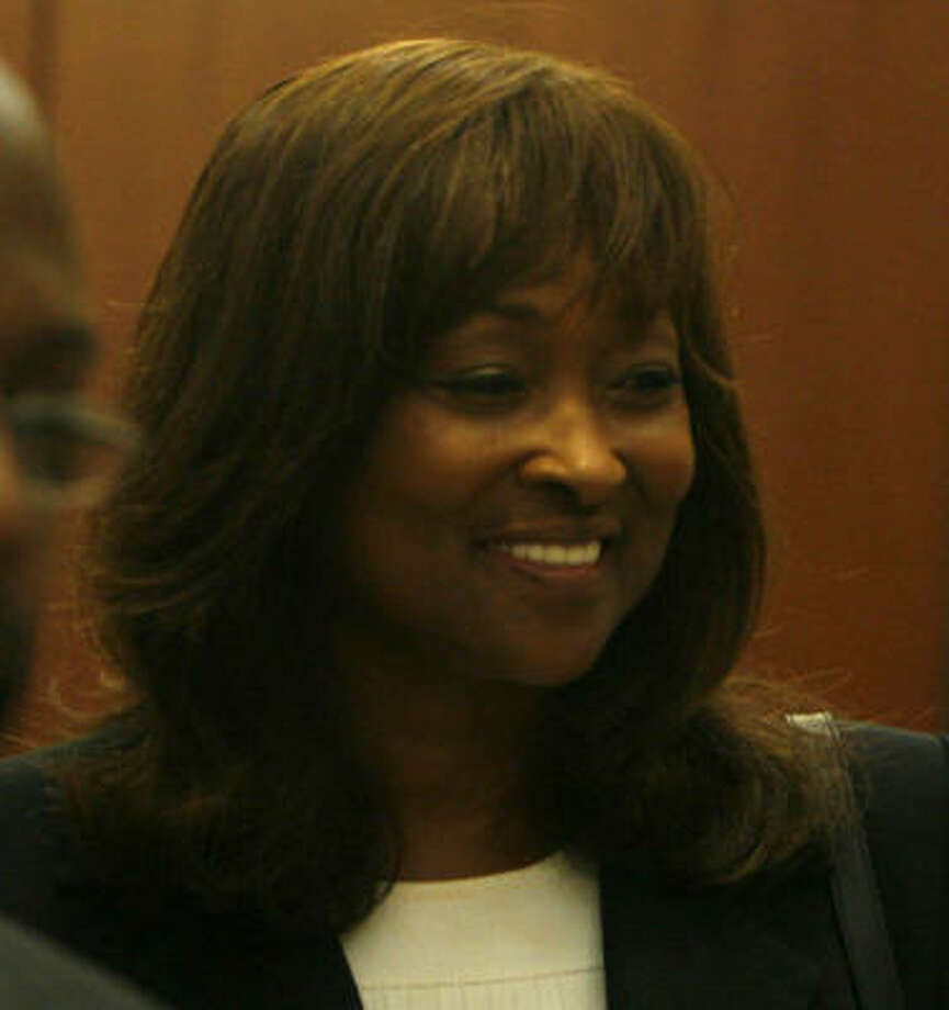 Priscilla Slade is suing over her firing as TSU president, claiming breach of contract. Photo: Sharon Steinmann, Chronicle