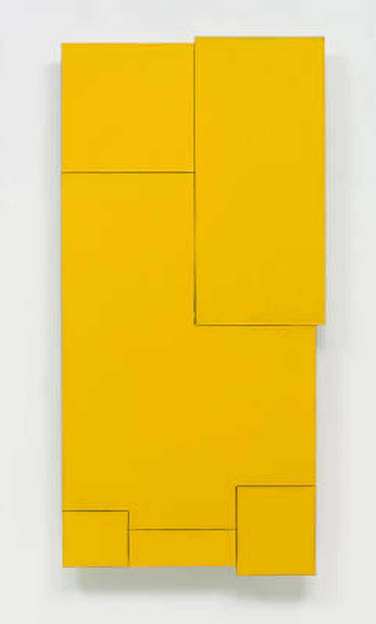 Sam Gilliam's On Yellow Wood (2003)