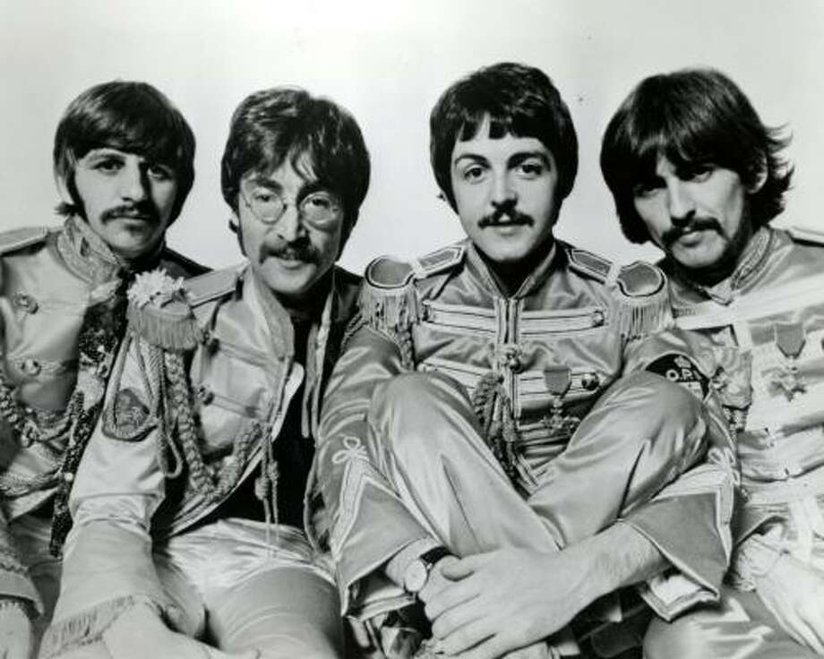 Recording the Beatles, a new book by Houstonian Kevin Ryan and music producer Brian Kehew, examines how the Beatles recorded music at Abbey Road studios. Photo: PARLOPHONE