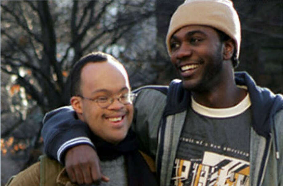 Two brothers (Christopher Scott, left, and Nawshawn Kearse) are challenged to stick together, in My Brother. Photo: Codeblack Entertainment