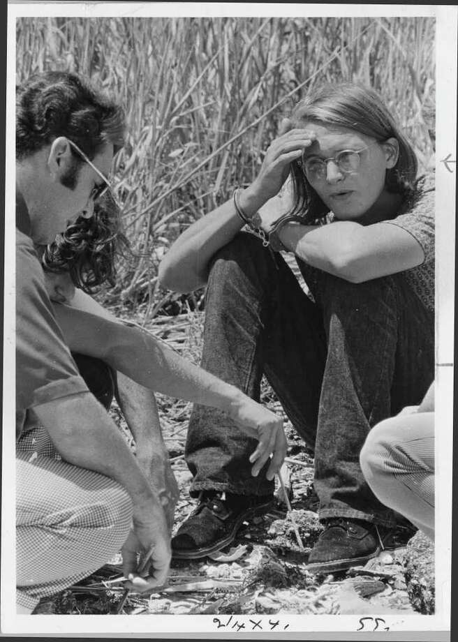 August 11, 1973  David Owen Brooks in handcuffs.  HOUCHRON CAPTION (12/12/1999): Brooks.   HOUSTON CHRONICLE SPECIAL SECTION: THE HOUSTON CENTURY.   HOUCHRON CAPTION (08/29/2000):  David Owen Brooks, shown in 1973, is serving a life sentence in the mass murders. Photo: Blair Pittman / Houston Chronicle