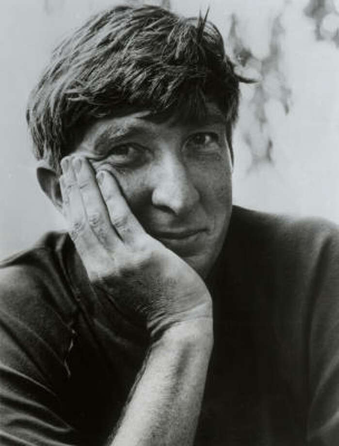 In a career that spanned half a century, Updike twice won the Pulitzer Prize and National Book Award. Photo: HOUSTON CHRONICLE LIBRARY