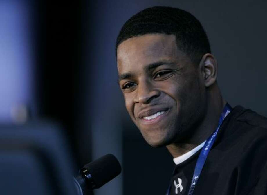 Texas Tech receiver Michael Crabtree declared for the draft after his junior year. Photo: Darron Cummings, AP