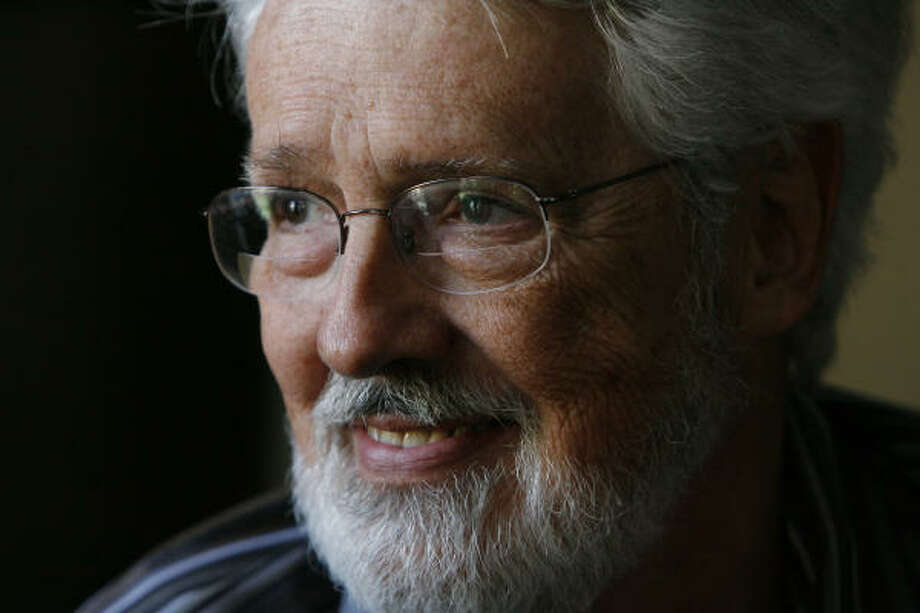 Richard Taylor, a 65-year-old psychologist, has Alzheimer's disease. He has written a book about what it's like to have Alzheimer's and he travels around the country talking to and encouraging other patients. Photo: Steve Campbell, Houston Chronicle