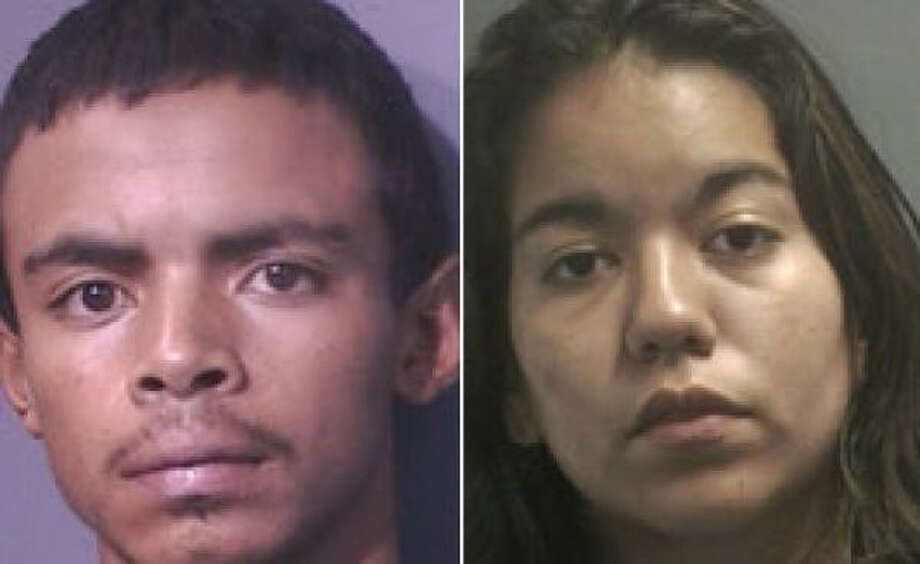 Investigators said Priscilla Rodriguez confessed to helping Gerson Funes-Reina put the body in a suitcase. Photo: Harris County Sheriff's Office