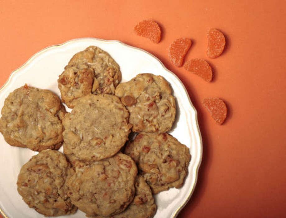 Old Fashioned Orange Slice Cookies