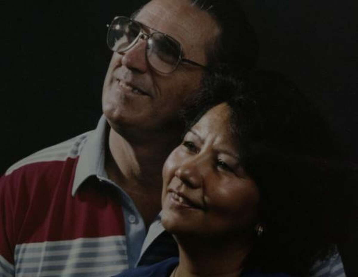 Raymond and Gloria McInnis worked many years at the Goodyear chemical plant in Houston. She died in an explosion on June 11.