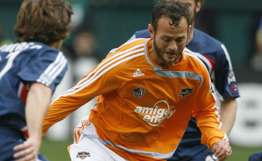 Four MLS teams are sending three players to camp, including Brad Davis and the Dynamo. Photo: James Nielsen, Chronicle