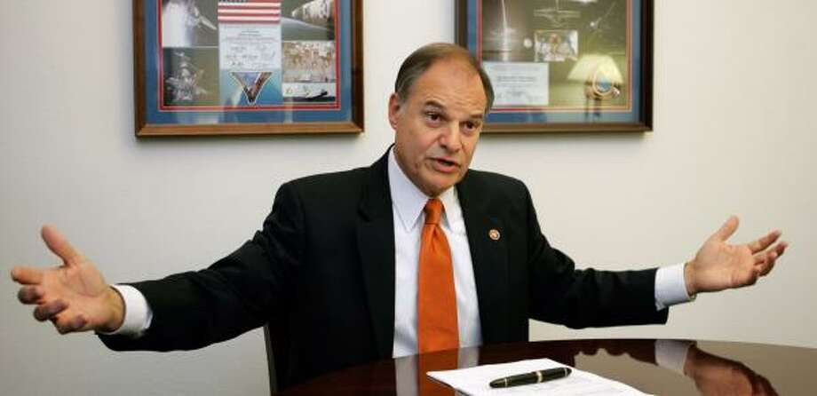 A target for Republicans in the 2008 election season, U.S. Rep. Nick Lampson, D-Stafford, has shed past moderate-to-liberal qualities to break with Democrats on some key issues. Photo: LISA NIPP, FOR THE CHRONICLE
