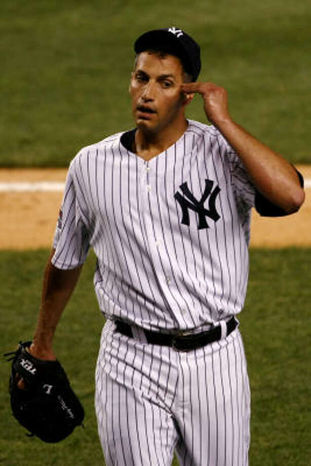 Would Andy Pettitte take a hometown discount to return to the Astros? Jerome Solomon thinks so. Photo: Chris McGrath, Getty Images
