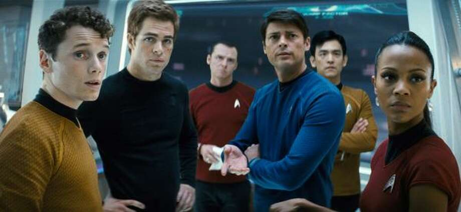 The crew members are a much younger bunch in J.J. Abrams Star Trek. Photo: Industrial Light & Magic, AP