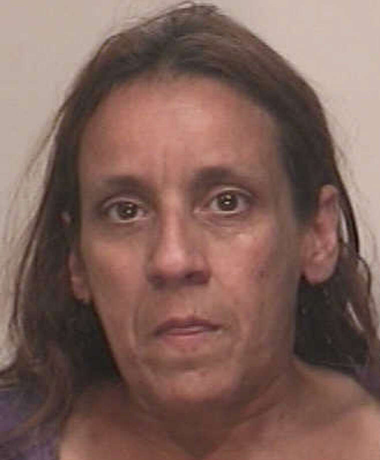 Diana Eldredge of Bridgeport was charged Friday with shoplifting clothes at the Kohl's store in Fairfield, and leading police on a chase on Interstate 95l. Photo: Fairfield Police Department / Fairfield Citizen contributed