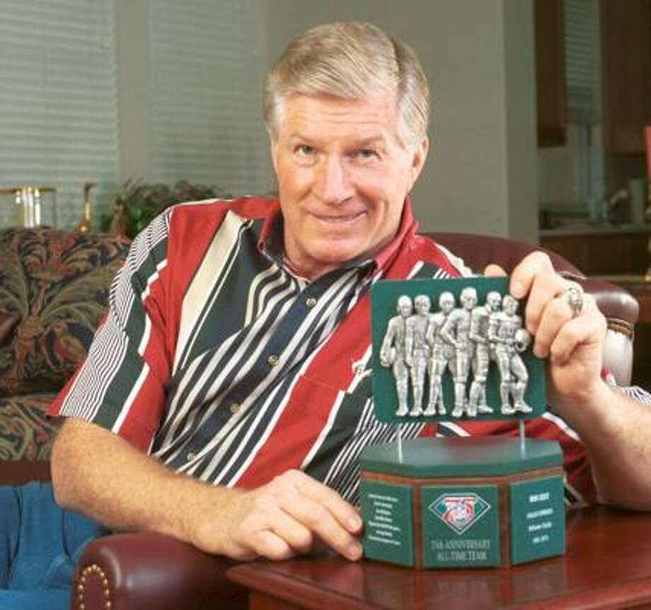 Bob Lilly is set for an April 9 appearance at the Texas Sports Hall of Fame. Photo: BEN NOEY JR, AP