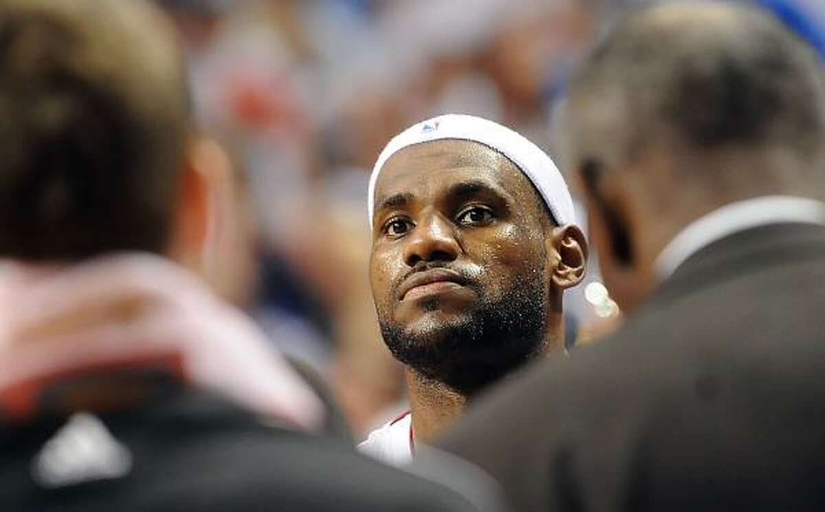 Why didn't LeBron go to college? He knew he'd fail the finals.