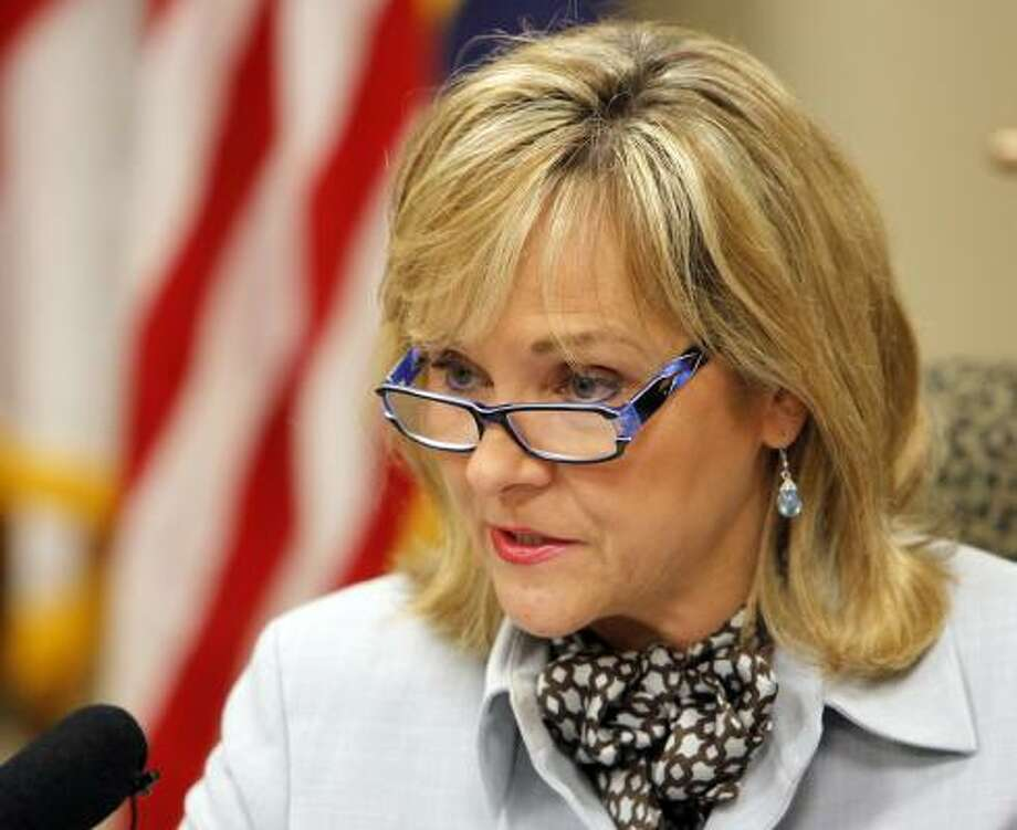 Mary Fallin  State: Oklahoma RSVP:No Photo: NATE BILLINGS, Associated Press
